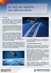 Le vent par satellite : <br/> les diffusiomètres
