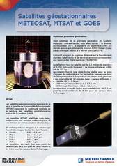 Satellites géostationnaires <br/> METEOSAT, MTSAT et GOES