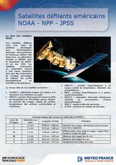 Satellites défilants américains NOAA NPOESS