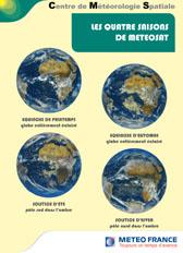 Les quatre saisons de METEOSAT