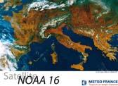 Vue sur l'Europe - le 25 mars 2003