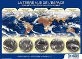 La terre vue de l'espace - cinq satellites pour une vision globale