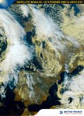 Vue sur l'Europe - le 9 février 2007