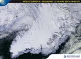 Vue sur le Groenland - le 18 avril 2007