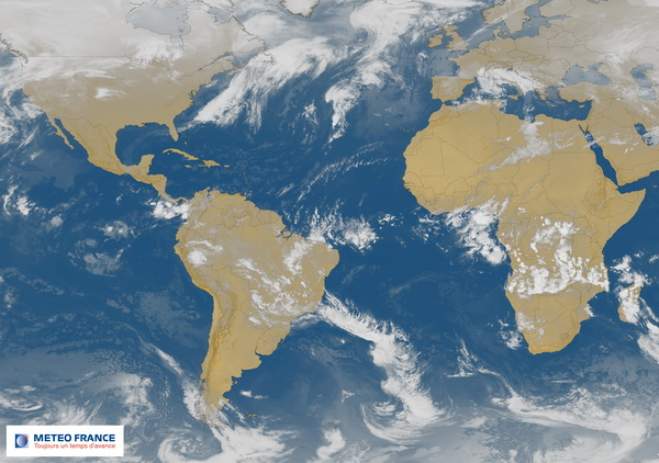 BISAT GOES-METEOSAT en infrarouge